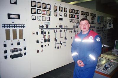 Начальник ГЭС Видякин А.