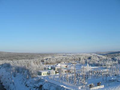 ОРУ-150 Иовской ГЭС