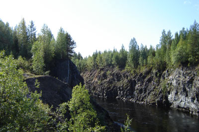 Отводящий канал Иовской ГЭС