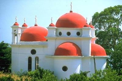 Капернаум. Греческая церковь