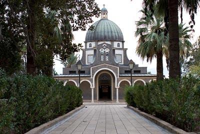 Монастырь Блаженства на месте Нагорной проповеди