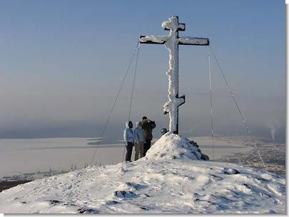 """Поклонный Крест на горе """"Крестовой"""""""