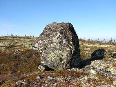 Камни Сейда на сопке Волосяная