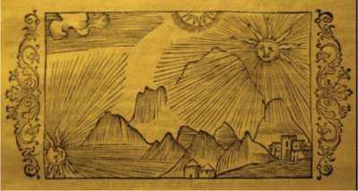 Страна Биармия. Рисунок из книги «История Северных народов»