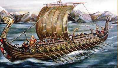 Норвежские корабли-дракары