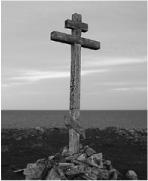 Поклонный крест 1915 года Тоня Красные Щелейки. Один из уцелевших до наших дней древних крестов Терского берега.