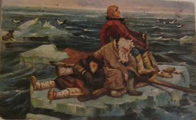 Картина В. М. Васнецова «На льдине»