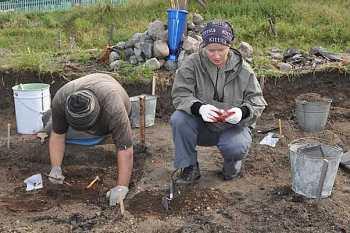 Археологические раскопки в Кандалакше