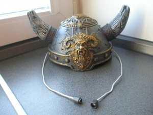 Шлем боевого жреца из кургана острова Готланд. Швеция