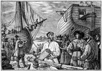 Торговые города во времена средневековья на Кольском полуострове