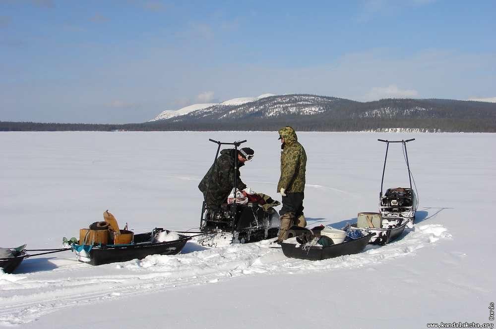 Зимняя рыбалка кольский полуостров