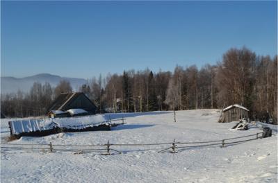 Домик в поселке Колвица