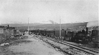 Станция Кандалакша в 20-х годах прошлого столетия